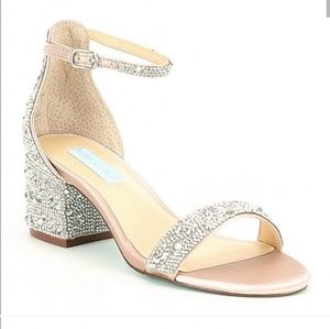 Betsey Johnson Mari Rhinestone sandals